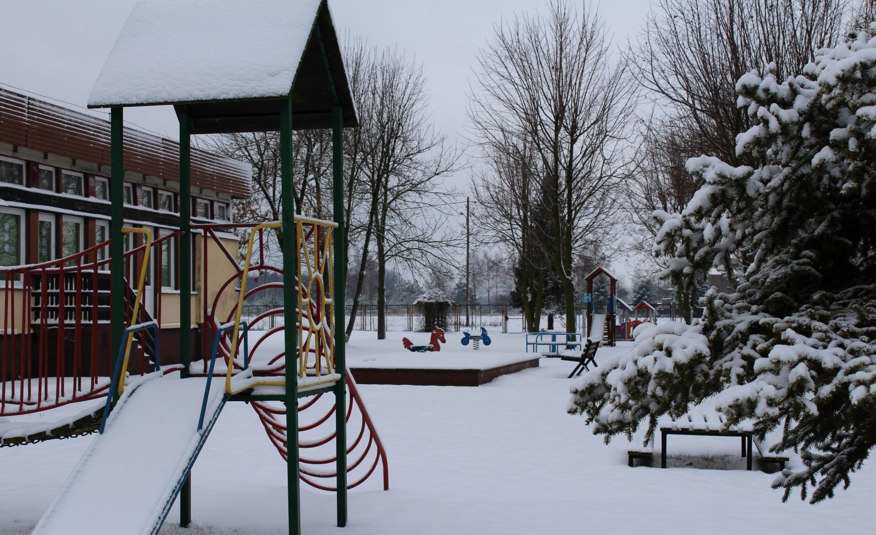 Przedszkole w zimowej odsłonie